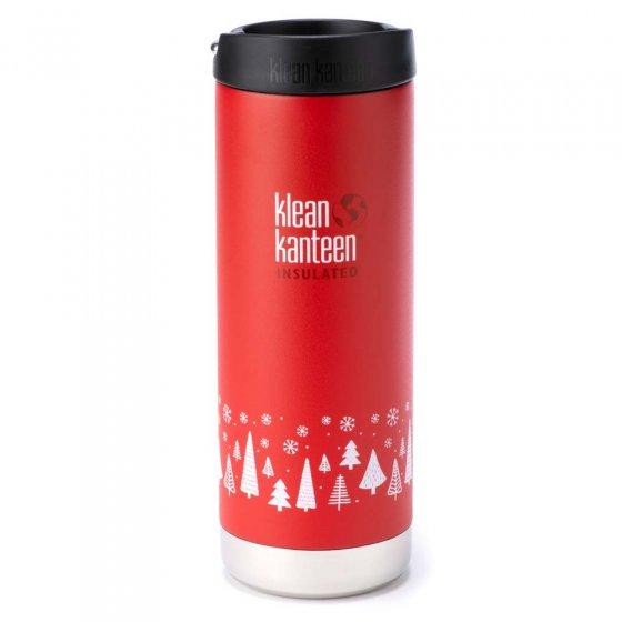 Klean Kanteen 16oz TKWide - Festive Red