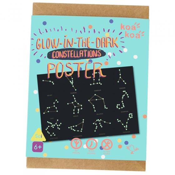 Koa Koa Constellations Poster