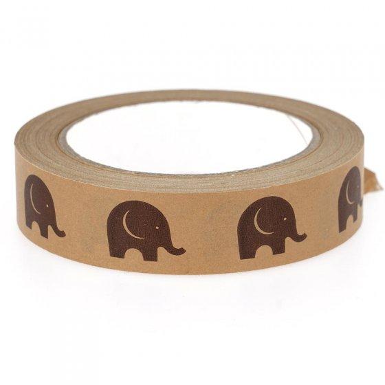 Babipur Kraft Elephant Paper Tape