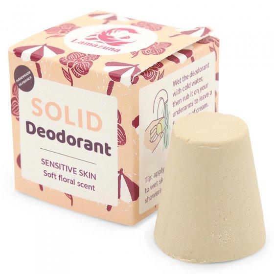 Lamazuna Floral Scent Solid Deodorant Bar Sensitive