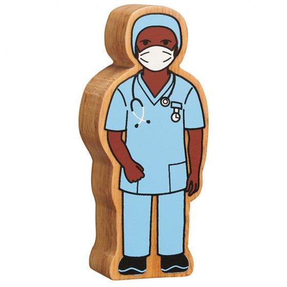 Lanka Kade Blue Nurse in Scrubs