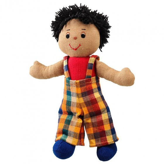 Lanka Kade Boy Doll - Brown Skin, Black Hair