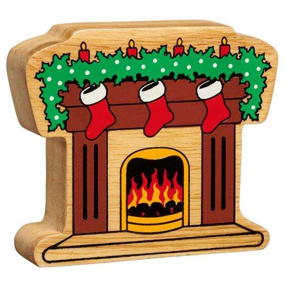 Lanka Kade Christmas Fireplace