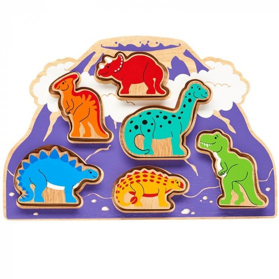 Lanka Kade Dinosaur Shape Sorter Tray