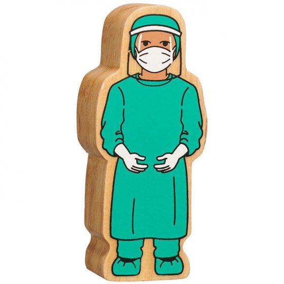 Lanka Kade Green Surgeon in Visor