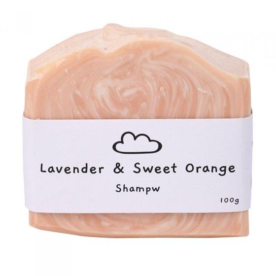 Shampw Lavender & Orange Shampoo Bar