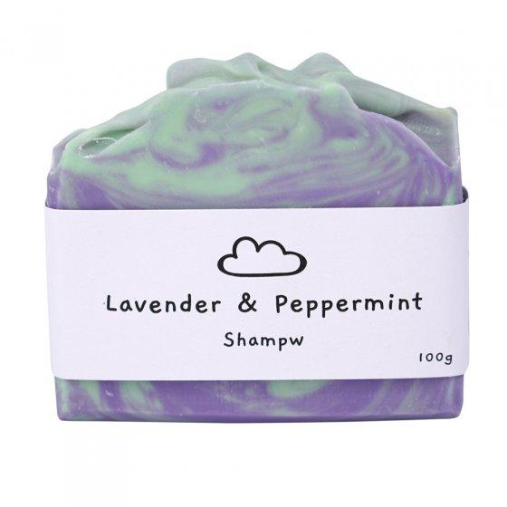 Shampw Lavender & Peppermint Shampoo Bar
