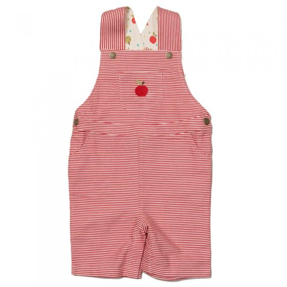 LGR An Apple A Day Classic Shortie Dungarees