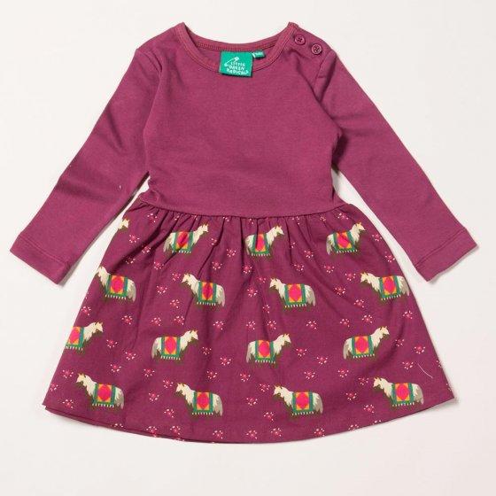 LGR Nordic Horses Little Twirler Dress
