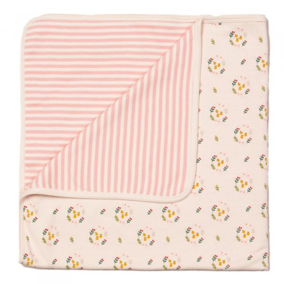 LGR Quince Flowers Baby Blanket