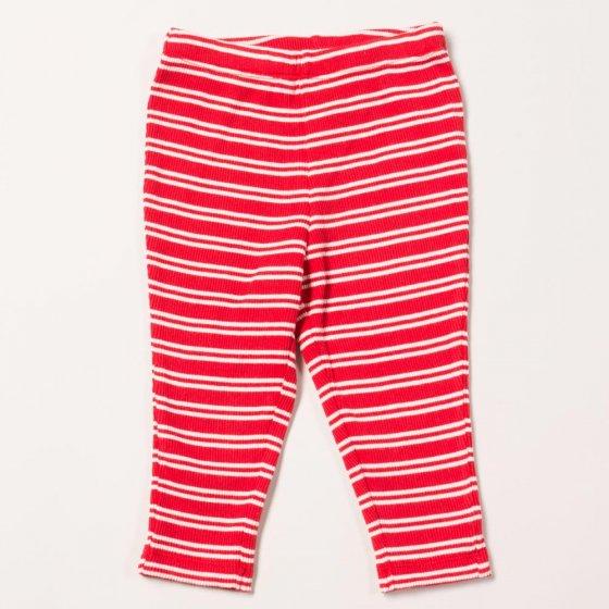 LGR Red Stripes Forever Rib Leggings