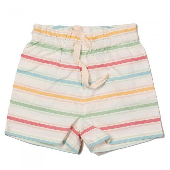 LGR Seersucker Rainbow Down by The Sea Shorts