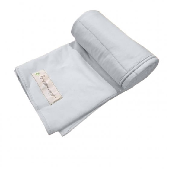 Pure Earth Collection Family Size Bamboo Baby Blanket - Dawn Grey