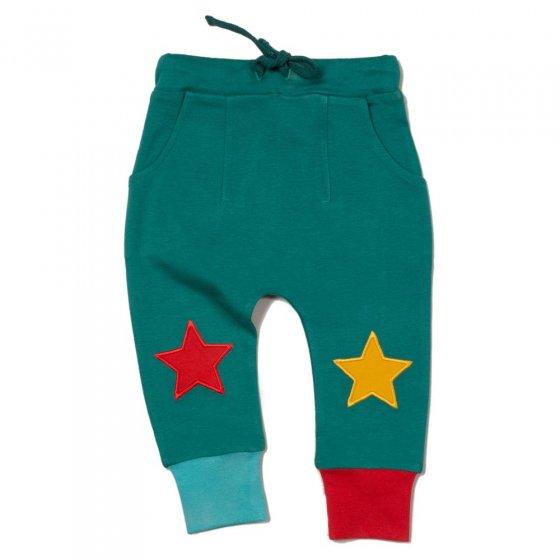 LGR Sea Green Star Joggers