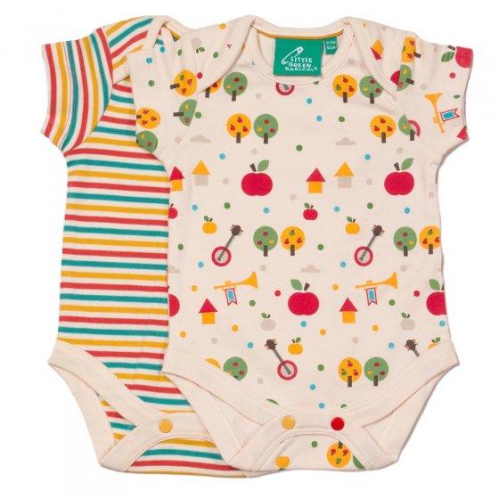 LGR Apple Trees Baby Body Set