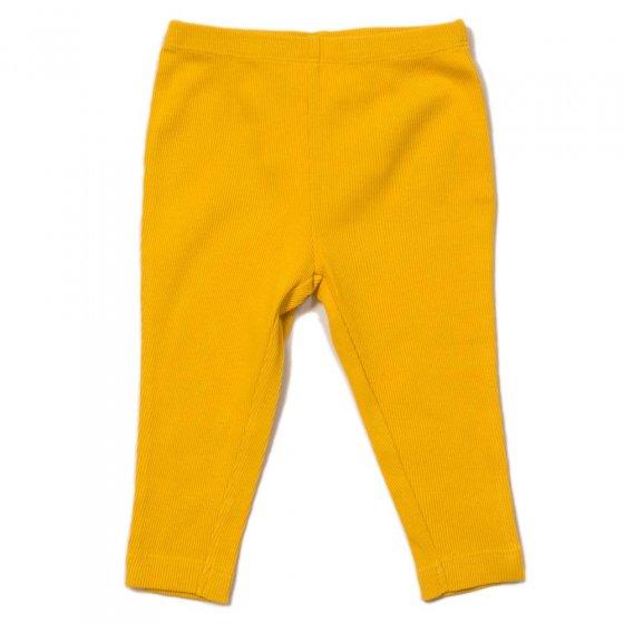 LGR Pale Gold Rib Essential Leggings