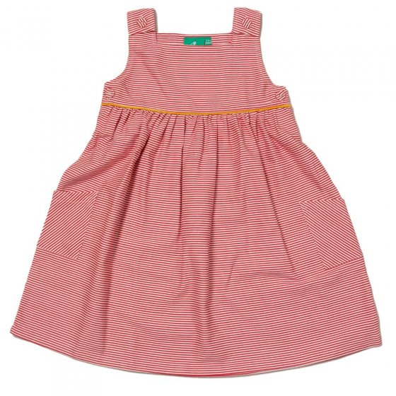 LGR Red Stripe Pinnie Dress