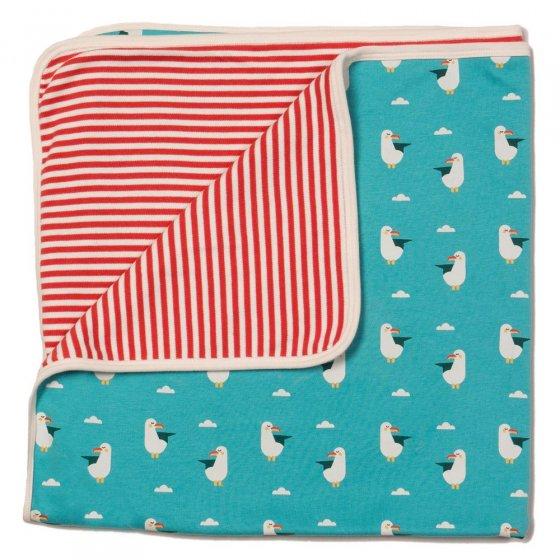 LGR Summer Seagull Baby Blanket