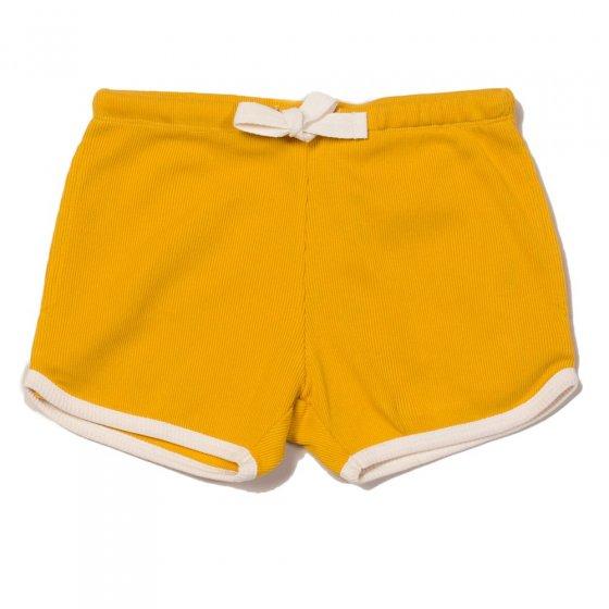 LGR Pale Gold Rib Essential Shorts