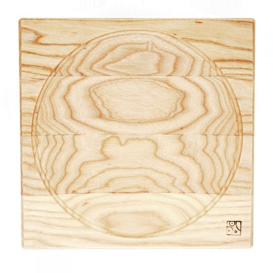 Mader Large Ash Spinning Plate
