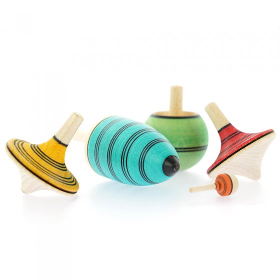 Mader Multicolour Spinning Top Learning Set