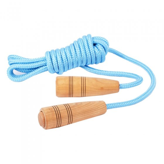 Mader Skipping Rope Natural Handles 5m