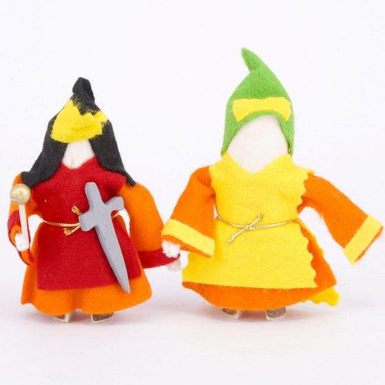 Magic Wood Royal Couple