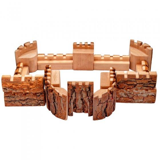 Magic Wood Small Castle Walls - 16 Pieces