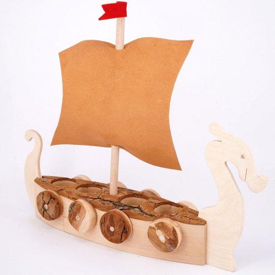 Magic Wood Vikings Boat