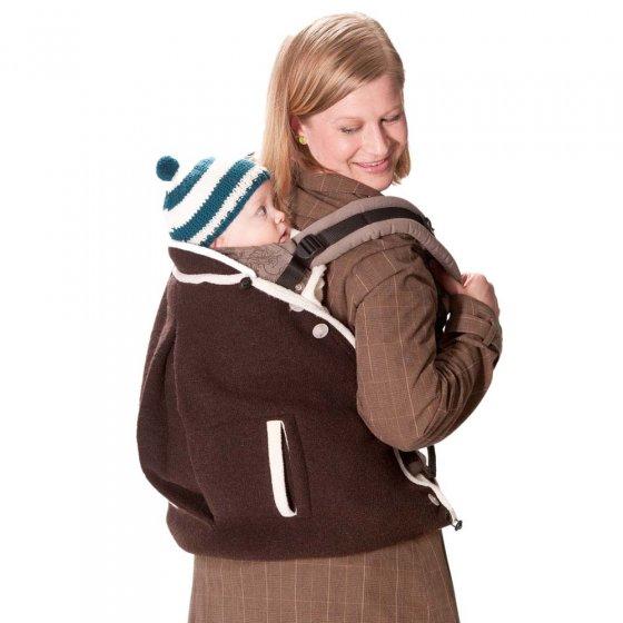 Mamalila Wool Babywearing Cover - Brown / Beige