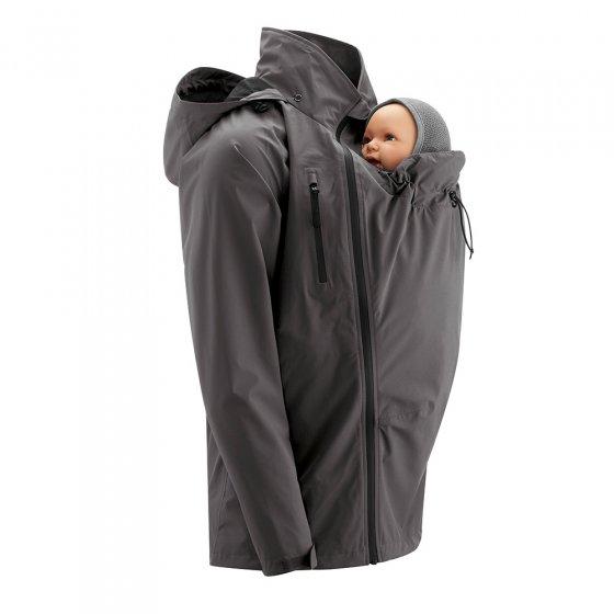 Mamalila Shelter Men's Babywearing Rain Jacket - Anthracite