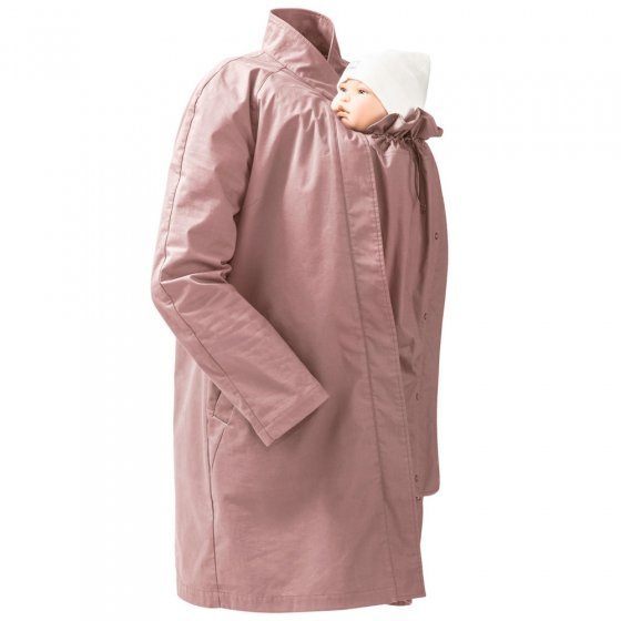 Mamalila Short Vintage Rose Babywearing Coat