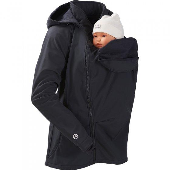 Mamalila Softshell Black Babywearing Jacket