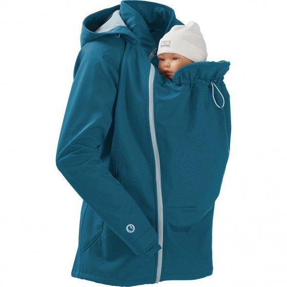 Mamalila Softshell Teal Babywearing Jacket