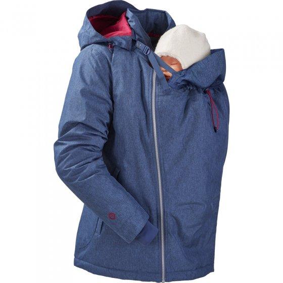 Mamalila Winter Ice Blue Babywearing Jacket