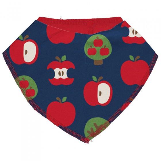 Maxomorra Apple Dribble Bib