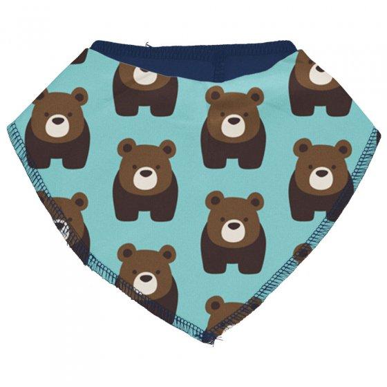 Maxomorra Bear Dribble Bib