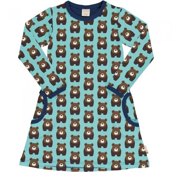 Maxomorra Bear LS Dress