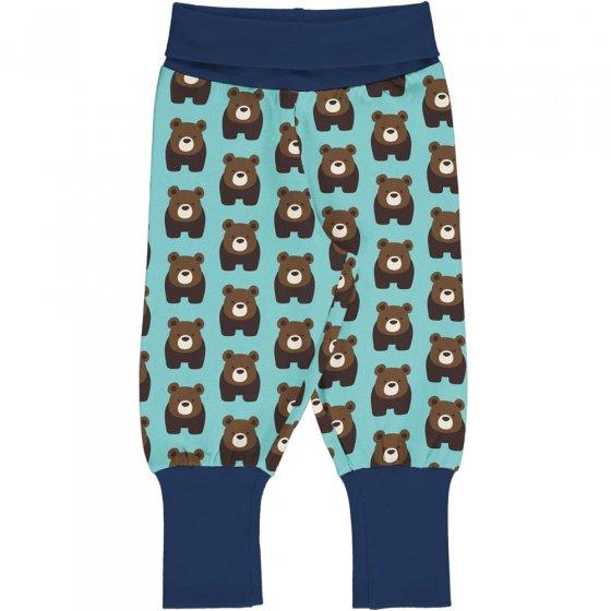 Maxomorra Bear Rib Pants