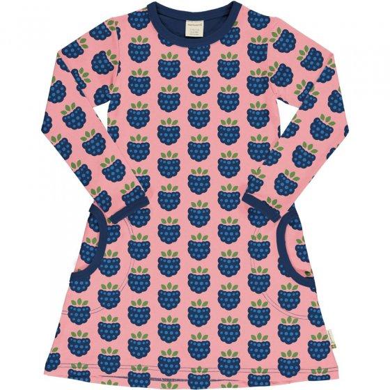 Maxomorra Blackberry LS Dress
