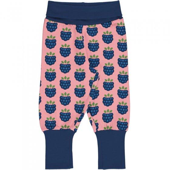 Maxomorra Blackberry Rib Pants