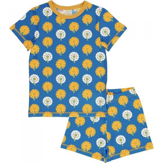 Maxomorra Dandelion SS Pyjama Set