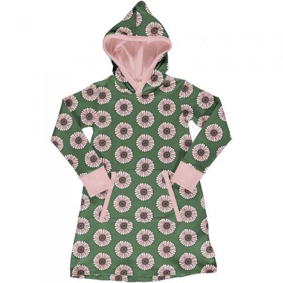 Maxomorra Calendula Hooded Sweat Dress