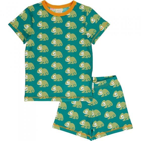 Maxomorra Chameleon SS Pyjama Set