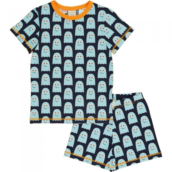 Maxomorra Classic Ghost SS Pyjama Set