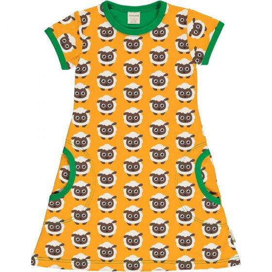 Maxomorra Classic Sheep SS Dress