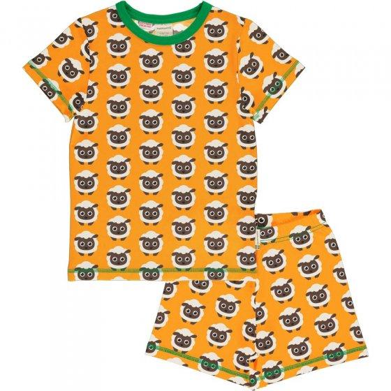 Maxomorra Classic Sheep SS Pyjama Set