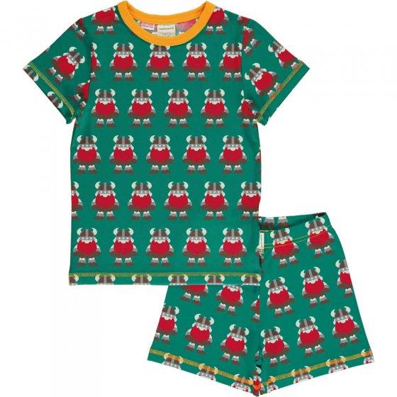 Maxomorra Classic Viking SS Pyjama Set