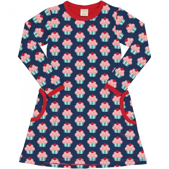 Maxomorra Cupcake LS Dress