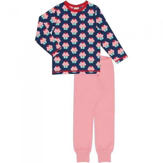 Maxomorra Cupcake LS Pyjama Set